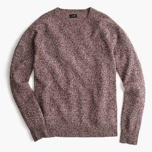 J. Crew Mens Slim Marled Lambswool Sweater